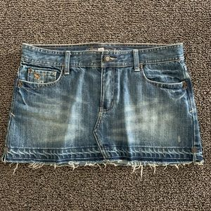 Dark Denim Skirt Size 10